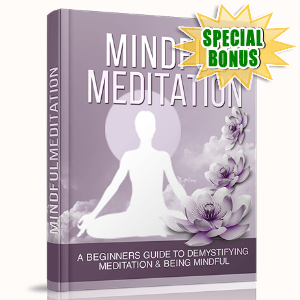 Special Bonuses - September 2015 - Mindful Meditation
