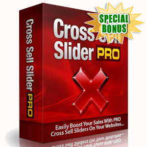 Special Bonuses - September 2015 - Cross Sell Slider Pro Software