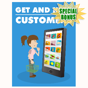 Special Bonuses - October 2015 - Get And Keep Customers