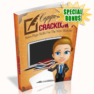Special Bonuses - October 2015 - Copywriting Crackdown