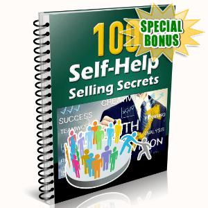 Special Bonuses - May 2016 - 100 Self-Help Selling Secrets