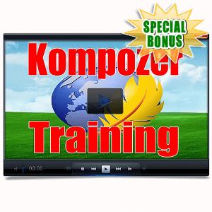Special Bonuses - May 2016 - Kompozer Training Videos