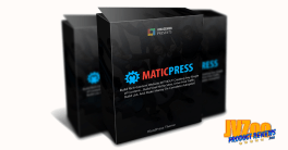 MaticPress Review and Bonuses