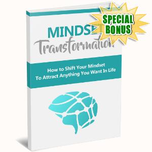 Special Bonuses - August 2016 - Mindset Transformation