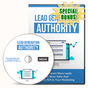 Special Bonuses - August 2016 - Lead Generation Authority Gold Upgrade