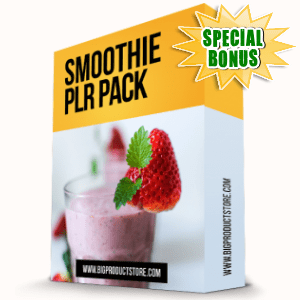 Special Bonuses - October 2016 - Smoothie PLR Pack