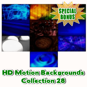 Special Bonuses - October 2016 - HD Motion Backgrounds Collection 28