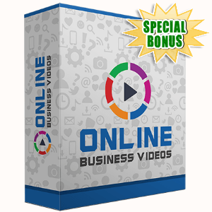 Special Bonuses - November 2016 - Online Business Video Series