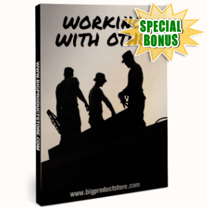 Special Bonuses - November 2016 - Working With Others