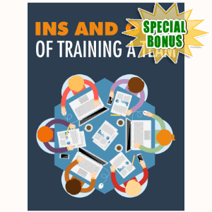 Special Bonuses - December 2016 - Ins And Outs Of Training A Team