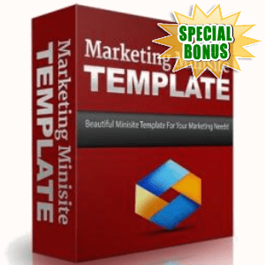 Special Bonuses - December 2016 - Marketing Minisite Template
