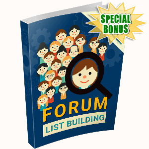 Special Bonuses - December 2016 - Forum List Building
