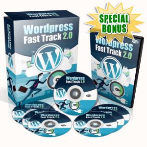 Special Bonuses - February 2017 - WordPress Fast Track Volume 2.0 Advance Video Series