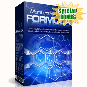 Special Bonuses - March 2017 - Membership Launch System Volume 2 Video Series