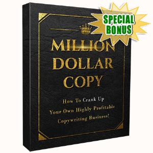 Special Bonuses - April 2017 - Million Dollar Copy Video Series