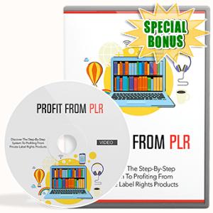 Special Bonuses - April 2017 - Profit From PLR Video Upgrade