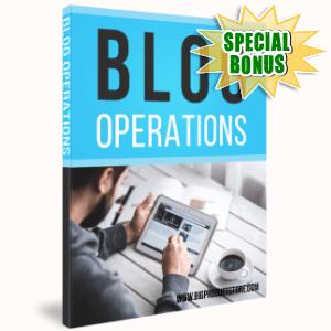 Special Bonuses - April 2017 - Blog Operations