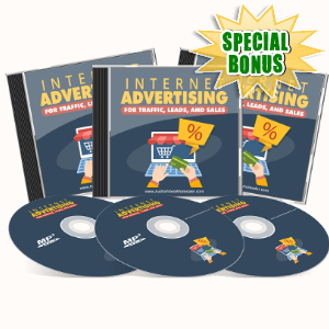 Special Bonuses - June 2017 - Internet Advertising For Traffic, Leads And Sales Audio Pack