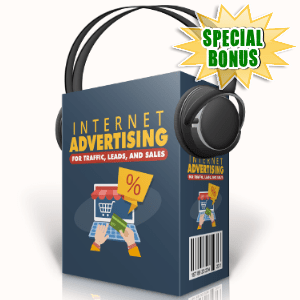 Special Bonuses - August 2017 - Internet Advertising For Traffic, Leads And Sales Audio Pack