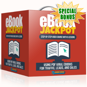 Special Bonuses - September 2017 - Ebook Jackpot Video Series Pack