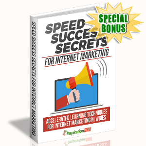 Special Bonuses - October 2017 - Speed Success Secrets For Internet Marketing