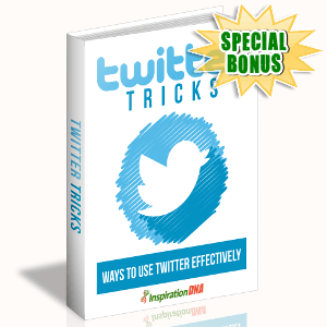 Special Bonuses - October 2017 - Twitter Tricks