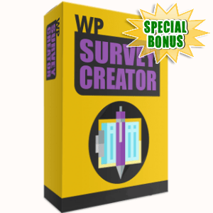 Special Bonuses - November 2017 - WP Survey Creator WordPress Plugin