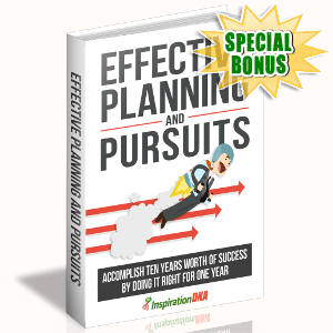 Special Bonuses - November 2017 - Effective Planning And Pursuits