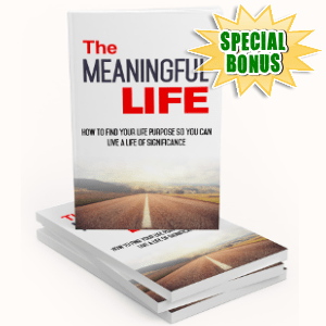 Special Bonuses - November 2017 - The Meaningful Life