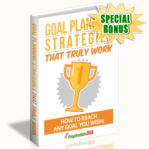 Special Bonuses - November 2017 - Goal Planning Strategies That Truly Work