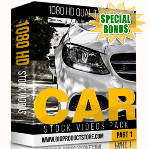 Special Bonuses - November 2017 - Car 1080 HD Stock Videos Part 1 Pack