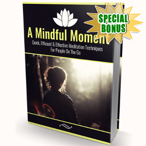 Special Bonuses - November 2017 - A Mindful Moment