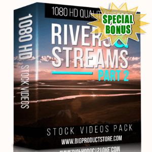 Special Bonuses - December 2017 - Rivers & Streams 1080 HD Stock Part 2 videos Pack