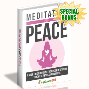 Special Bonuses - December 2017 - Meditation For Peace