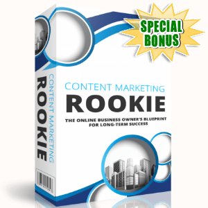 Special Bonuses - December 2017 - Content Marketing Rookie