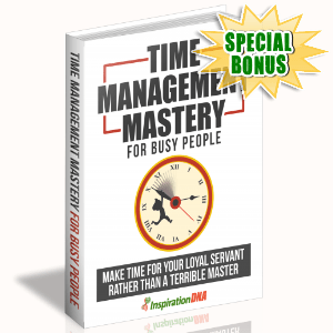 Special Bonuses - January 2018 - Time Management Mastery For Busy People