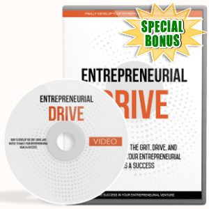 Special Bonuses - March 2018 - Entrepreneurial Drive Video Upgrade Pack