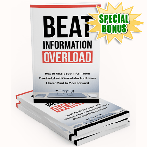 Special Bonuses - March 2018 - Beat Information Overload Pack