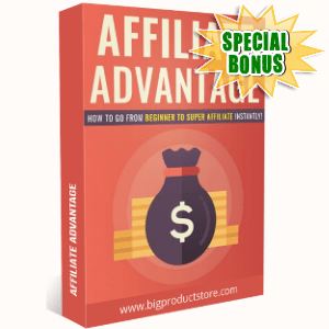 Special Bonuses - July 2018 - Affiliate Advantage