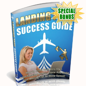 Special Bonuses - August 2018 - Landing Page Success Guide