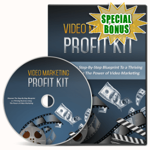 Special Bonuses - October 2018 - Video Marketing Profit Kit Video Upgrade pack