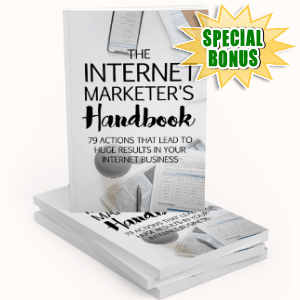 Special Bonuses - February 2019 - The Internet Marketer's Handbook Pack