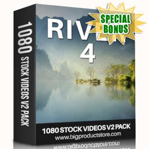 Special Bonuses - April 2019 - River 4 - 1080 Stock Videos V2 Pack