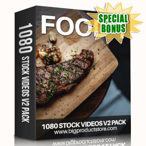 Special Bonuses - June 2019 - Food 1 - 1080 Stock Videos V2 Pack
