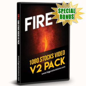 Special Bonuses - June 2019 - Fire 2 - 1080 Stock Videos V2 Pack