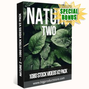 Special Bonuses - July 2019 - Nature 2 - 1080 Stock Videos V2 Pack