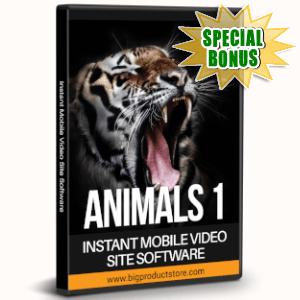 Special Bonuses - July 2019 - Animals 1 - 1080 Stock Videos V2 Pack