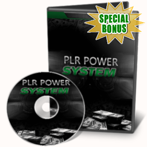 Special Bonuses - July 2019 - PLR Power System Video Series Pack