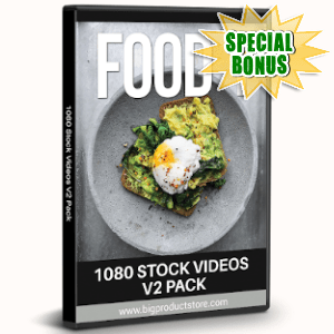Special Bonuses - August 2019 - Food 1 - 1080 Stock Videos V2 Pack