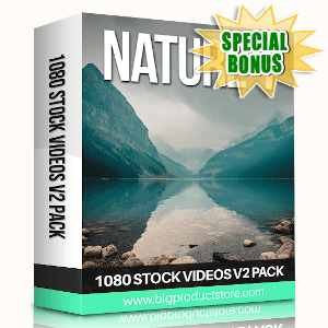 Special Bonuses - August 2019 - Nature 1 - 1080 Stock Videos V2 Pack